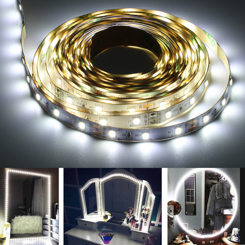 Cosmetic Mirror Light-Kit Makeup-Lamp Flexible 240 SMD 13ft Strip 3-Types
