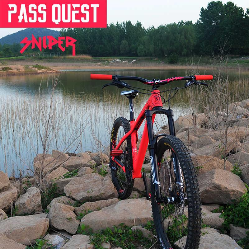 Lulus Quest Sniper Mountain Bike Stang 720 Mm/780 Mm * 20 Mm Menurun Stang Sepeda Stang Sepeda Aksesoris