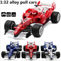 1:32 alloy pull back cars, high simulation F1 car toy with music, there is a strong pull back function, free shipping