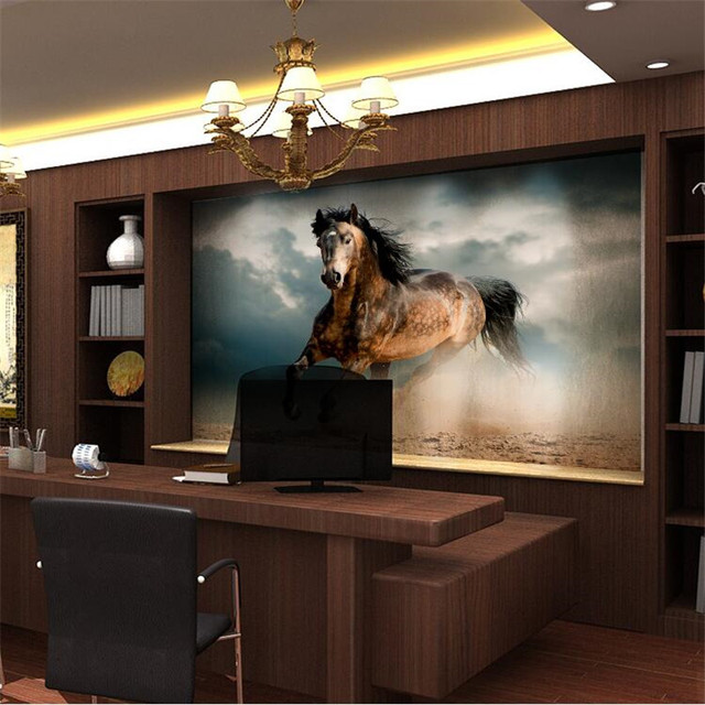 office backdrop. Fine Backdrop Beibehang Quality Cloth Mural Flash Photo Wallpaper Perspective Office  Backdrop Painting Galloping Horse With Office Backdrop O