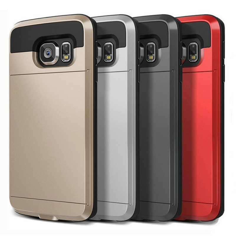 Cover For Samsung Galaxy S8 S9 Plus A3 A5 A7 J3 J4 J5 J6 J7    Pro Case Hybrid Tough Card Storage Armor Cases