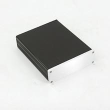 KYYSLB Mini Amplifier Case DIY Box Enclosure132x42x169mm Home Audio All aluminum Amplifier Chassis Housing1304 Box Profile