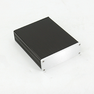 Image 1 - KYYSLB Mini Amplifier Case DIY Box Enclosure132x42x169mm Home Audio All aluminum Amplifier Chassis Housing1304 Box Profile