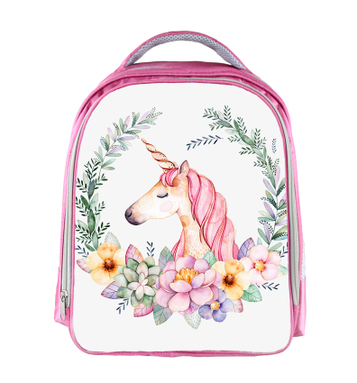 13 Inch Unicorn Backpack Rainbow Horse Backpack Kids School Bags For