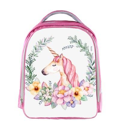 13 Inch Unicorn Rucksack Regenbogen Pferd Rucksack Kinder Schule Taschen Für Jungen Mädchen Schul Kindergarten Kind Taschen