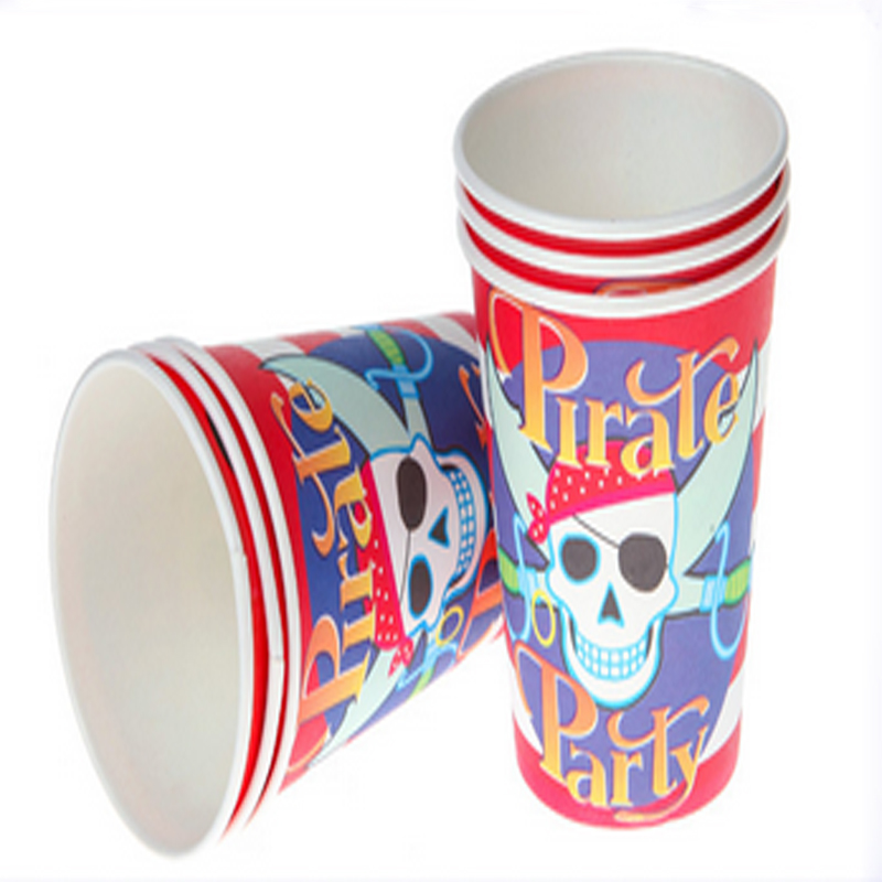 Baby Shower Events pirate Cartoon party Happy Birthday Party Kids Favors Paper Cups Decoration Supplies Tableware -in Disposable Party Tableware from Home ...  sc 1 st  AliExpress.com & Baby Shower Events pirate Cartoon party Happy Birthday Party Kids ...