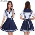 High quality Lolita cosplay Blended Cotton School Uniforms korean school wear Anime Girl Costume Dress japanese school uniform
