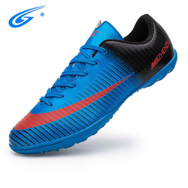 695cc919f Online Shop ZHENZU Professional Men Kids Turf Indoor Soccer Shoes Cleats  Original Superfly futsal Football Boots Sneakers chaussure de foot