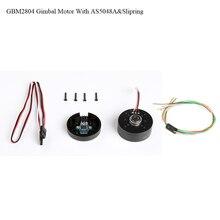 IPower GBM2804H 100T GBM2804 2804 Gimbal Бесщеточный двигатель с AS5048A кодировщик с slipring для бесщеточного карданного стабилизатора