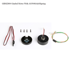 Image 1 - iPower GBM2804H 100T GBM2804 2804 Gimbal Brushless Motor with AS5048A Encoder with slipring for Brushless Gimbal stalizer