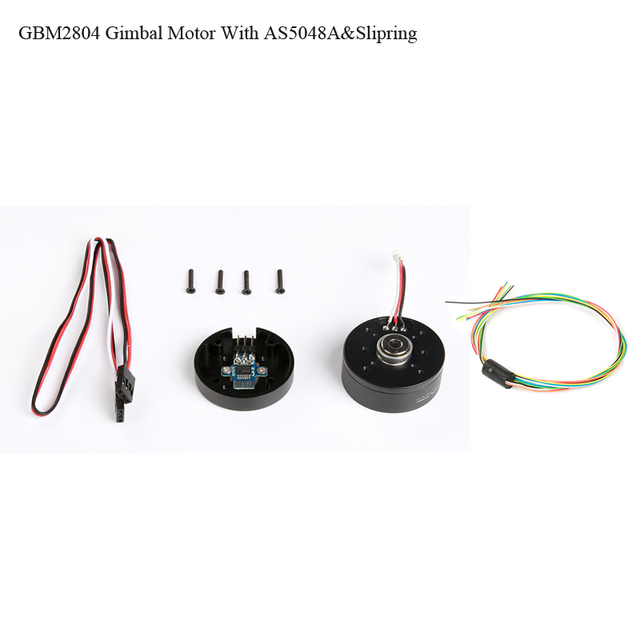 iPower GBM2804H 100T GBM2804 2804 Gimbal Brushless Motor with AS5048A Encoder with slipring for Brushless Gimbal stalizer