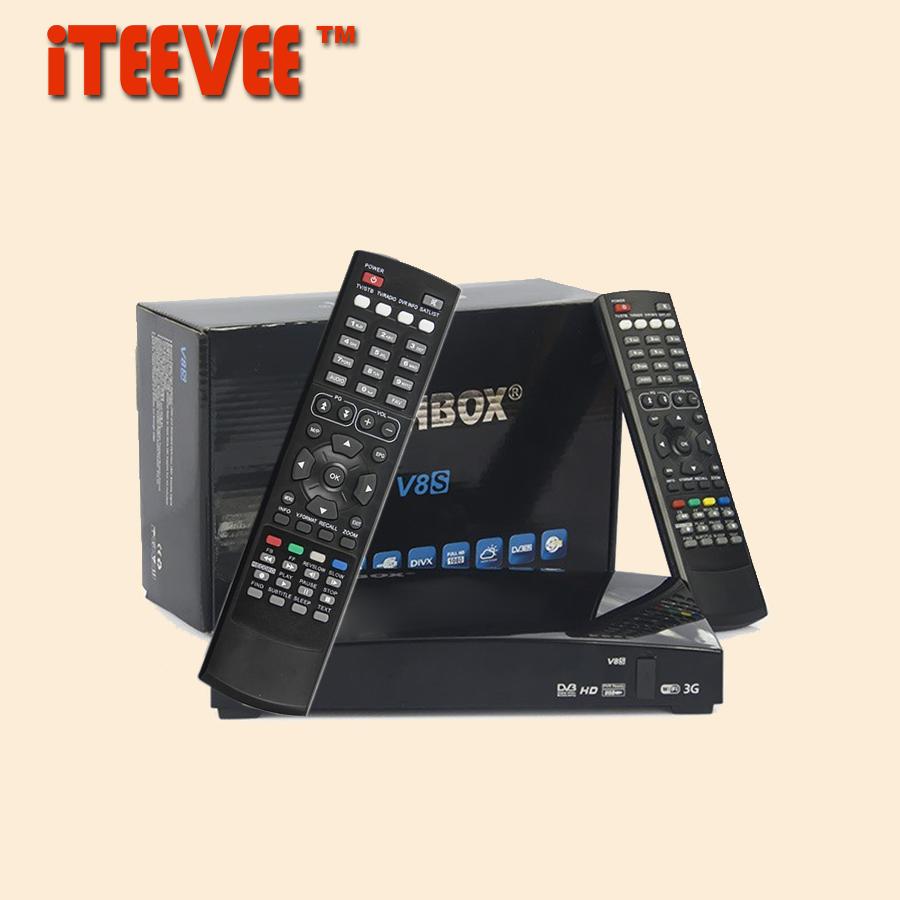 Prix pour 5 PCS [DHL LIBRE] VÉRITABLE iTEEVEE O V8S O-V8S Satellite Récepteur Numérique Freesat PVR FULL HD 1080 P TV BOX DVB-S2 DVB S2