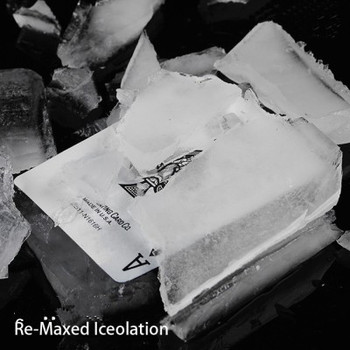 Re-Maxed Iceolation (DVD + Gimmick) Magic Tricks Magicians Stage Props Illusion Comedy Mentalism Signed Card Into Ice Magia