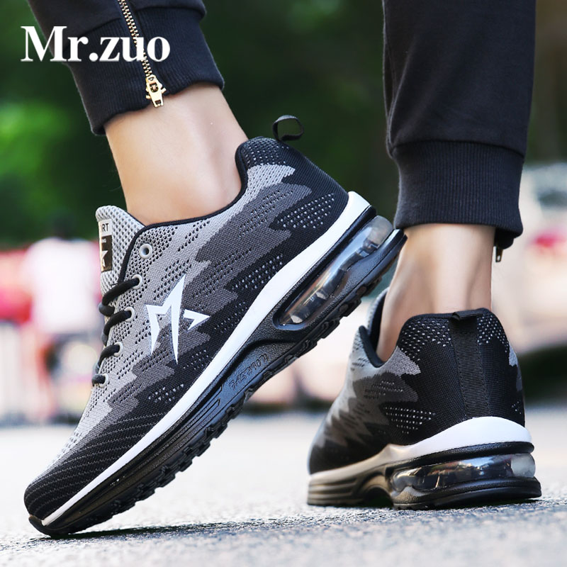 New Men Sneakers 2017 Spring Autumn Running Shoes Sports Outdoor Run tennis Trainers Fitness Walking Shoes Athletic Cool Shoes 2016 sale hard court medium b m running shoes new men sneakers man genuine outdoor sports flat run walking jogging trendy
