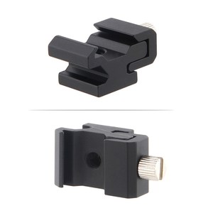 Image 4 - 10pcs/lot Camera Metal Cold Shoe Hot Shoe Flash Bracket Mount Adapter With 1/4 Tripod Screw To Light Stand Tripod