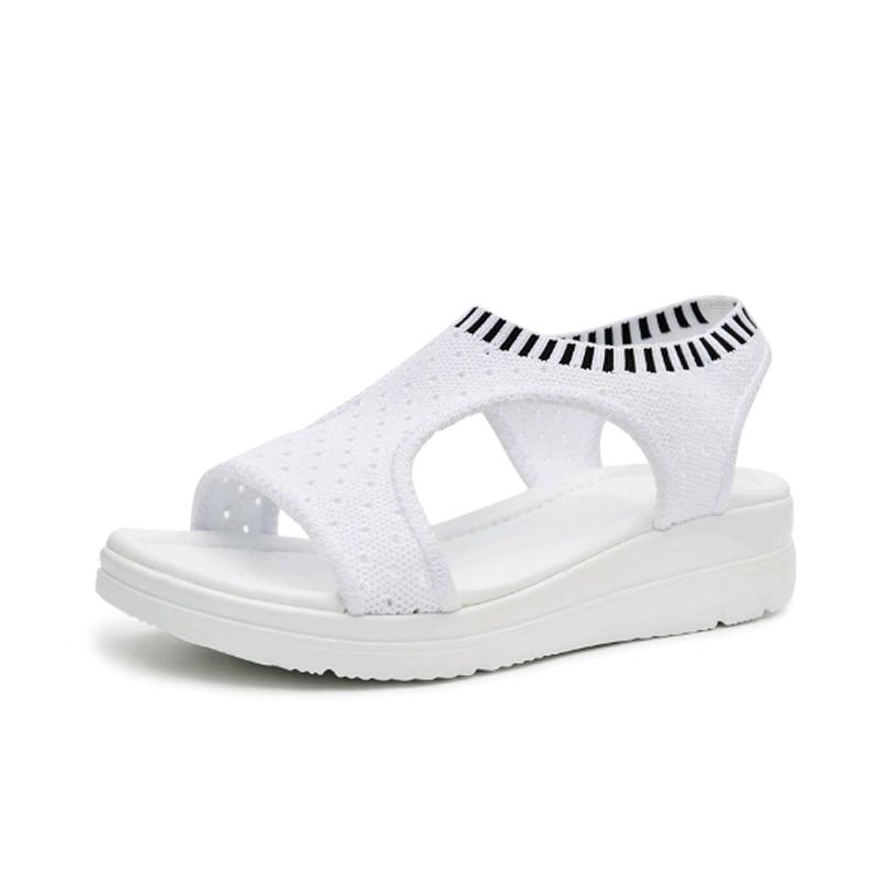 2018 الصيف الصنادل المرأة الأحذية - أحذية المرأة