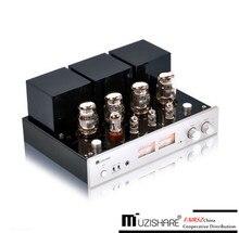 Вакуумный трубчатый усилитель MUZISHARE X7 Push Pull KT88 (6550), встроенные ультралинейные усилители/триодный режим, MM phono In,RC контроллер