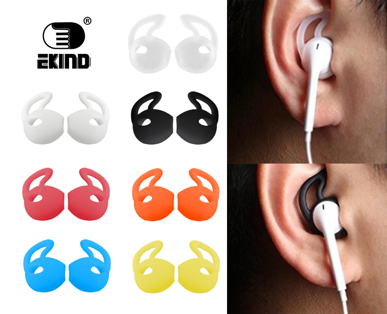4Pairs/8piece Silicone Cover Earbuds Earphone Case for Apple iphone X 8 7 6 Plus 5 5S Earpods Headphone Eartip Ear Wings Hook cool tire design silicone plastic back case for iphone 5 5s