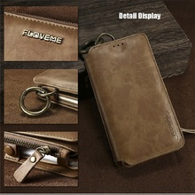 Business Leather Wallet Phone Cases For iPhone X-8-7