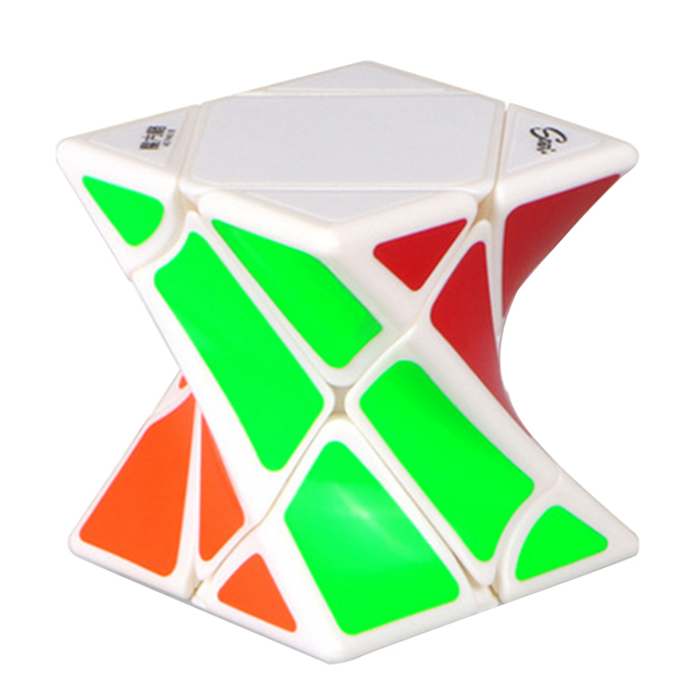 Twisted puzzle cube (2 styles)
