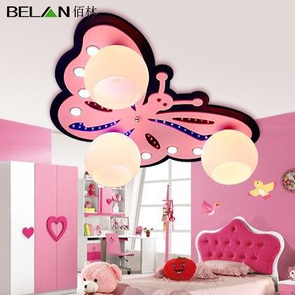 Creative Children Room Warm Lights And Lovely Little Girl Room Bedroom  Cartoon LED Ceiling Lamps