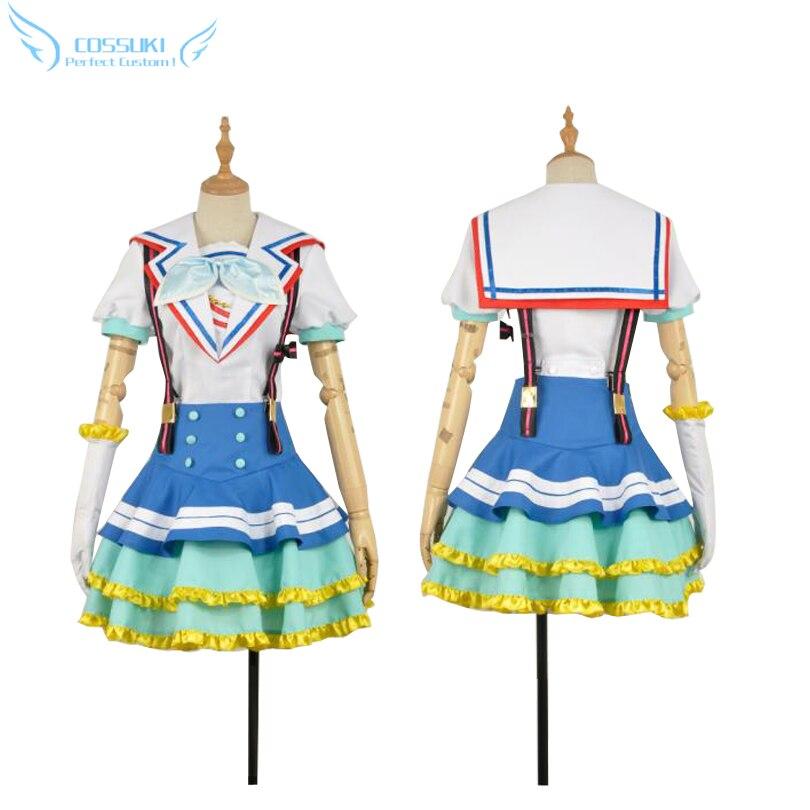 Lovelive Sunshine Tsushima Yoshiko Cosplay Costume Stage Performence Clothes Perfect Custom for You
