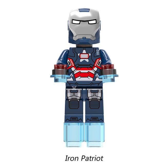 Avengers 4 Endgame Iron Man MK50 Bangunan Blok Marvel Super Heroes S Ironman MK33