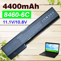 6 Cells 5200mAH Battery For HP EliteBook 8460p 8460w 8560p 8560w ProBook 6360b 6460b 6465b 6560b