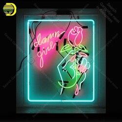 NEON znak dla ręcznie z różowe światło lampora neon neon światło dla Windower wyświetlacz ścienny wykonane na zamówienie dekoracji stara lampa