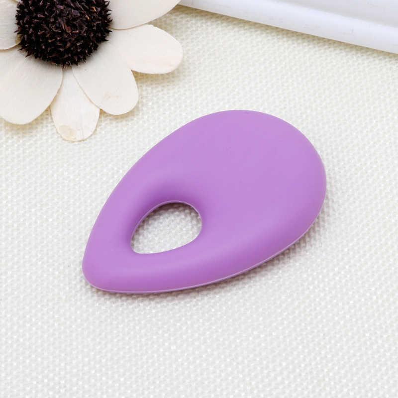 Силиконовые Teardrop Подвеска детский аксессуар для прорезывания зубов Прорезыватель аутизм сенсорные жевание