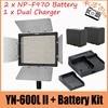 YONGNUO YN600L YN600 II CRI 95 Panel LED Video Light Wireless Remote 2 X NP F970