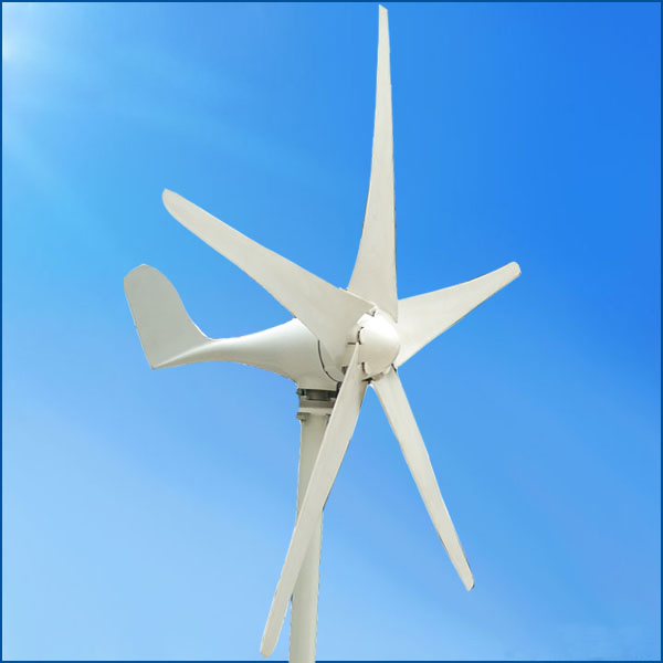 100w 12v 24v Small Horizontal Wind Turbine Generator In