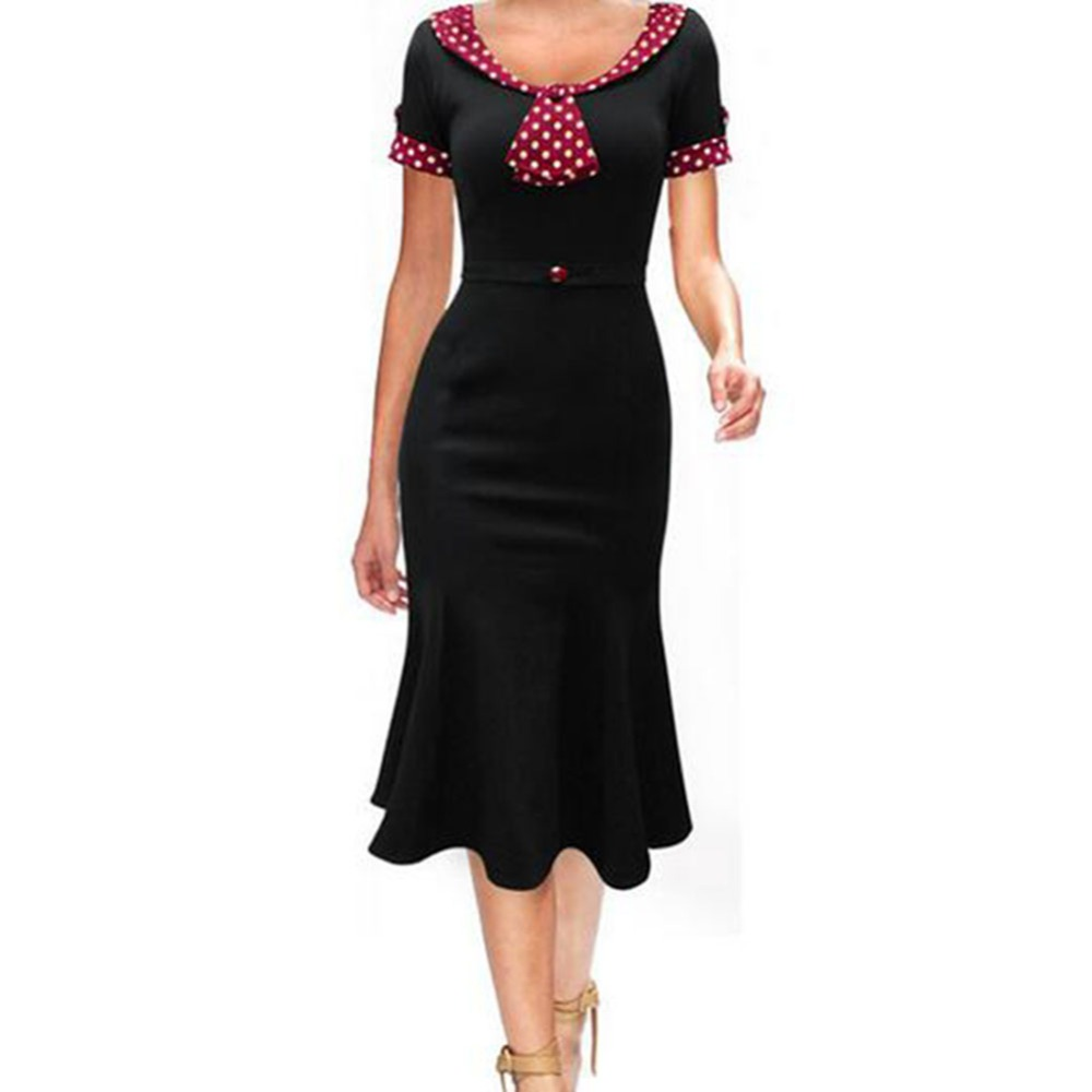 cnWay 2016 Womens dresses plus size Maggie Tang 50s ...