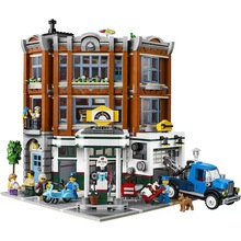 New Lepin 15042 Corner Garage Set 10264 Assemblage 2569Pcs Building Series Buidling Blocks Bricks Kids Toys Collectable Gifts(China)