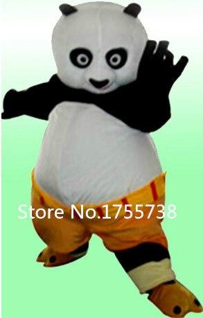Haute qualité adulte kung fu panda costume de mascotte kung fu panda costume de mascotte kung fu panda costume livraison rapide