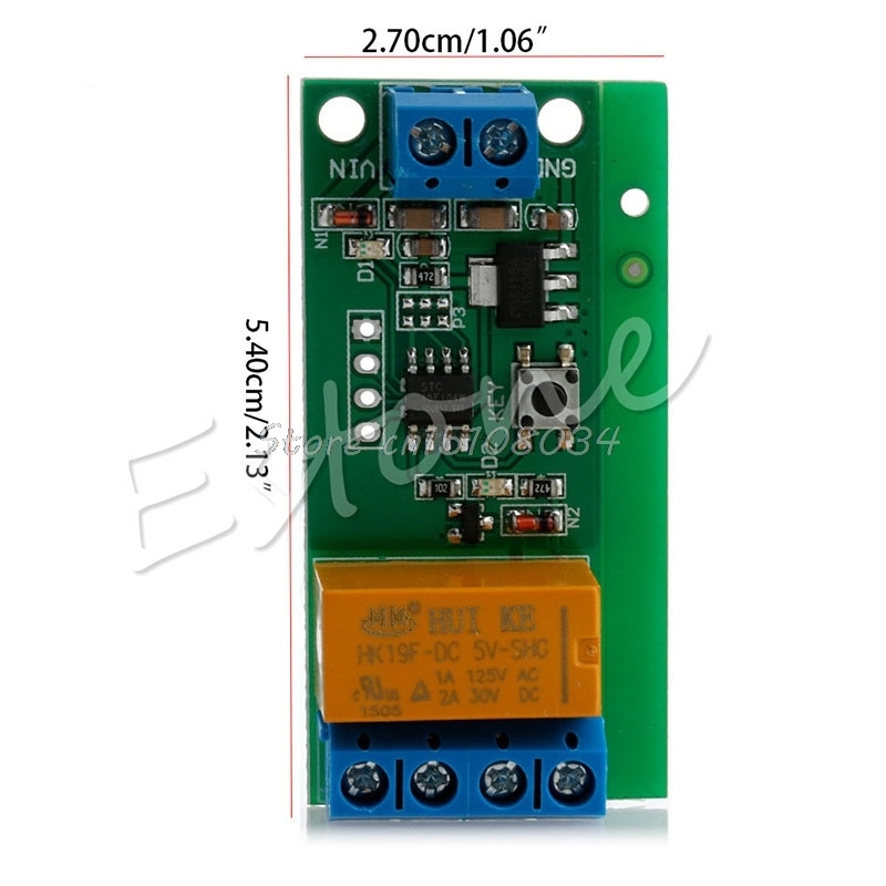 GAOHOU 5~12V DC Motor Reverse Polarity Cyclic Timer Switch Time Repeater Delay