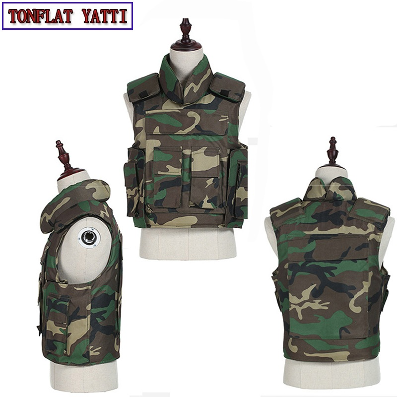 2020 Aramid 24 layers nij-iiia Soft Body-Armor Vest 9 mm; 40 S&W FMJ RN 341m/s bullets category Bullet-Proof-Military Army Vest