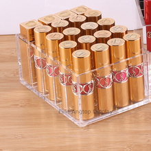 Acrylic Makeup Powder Organizer Blushers Holder Box Jewelry Storage Display 5 Spaces