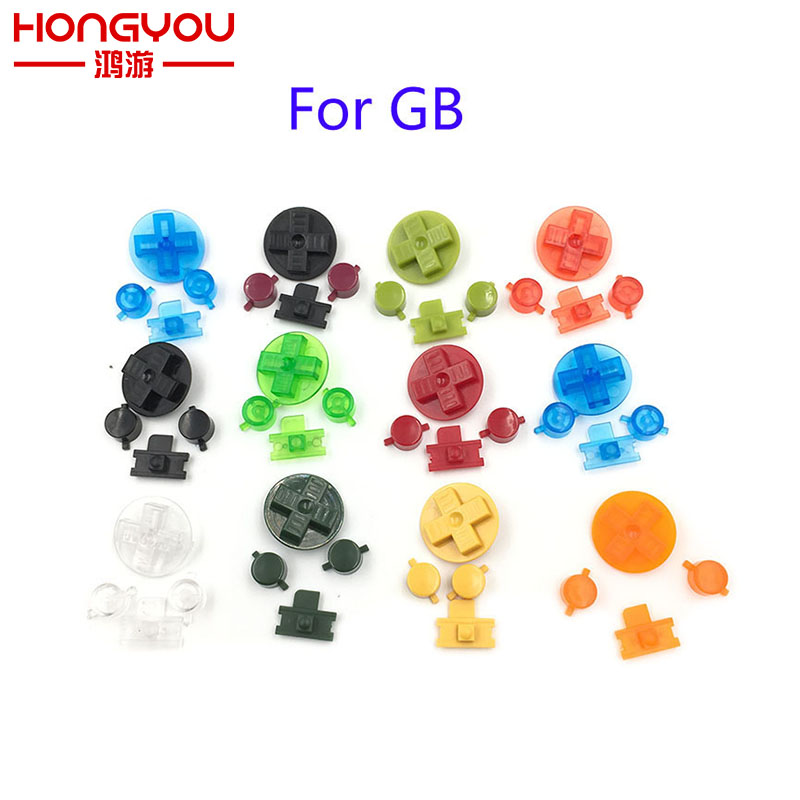 5sets Plastic Buttons A-B D-Pad For Gameboy Classic For GB GBO DMG Keypad