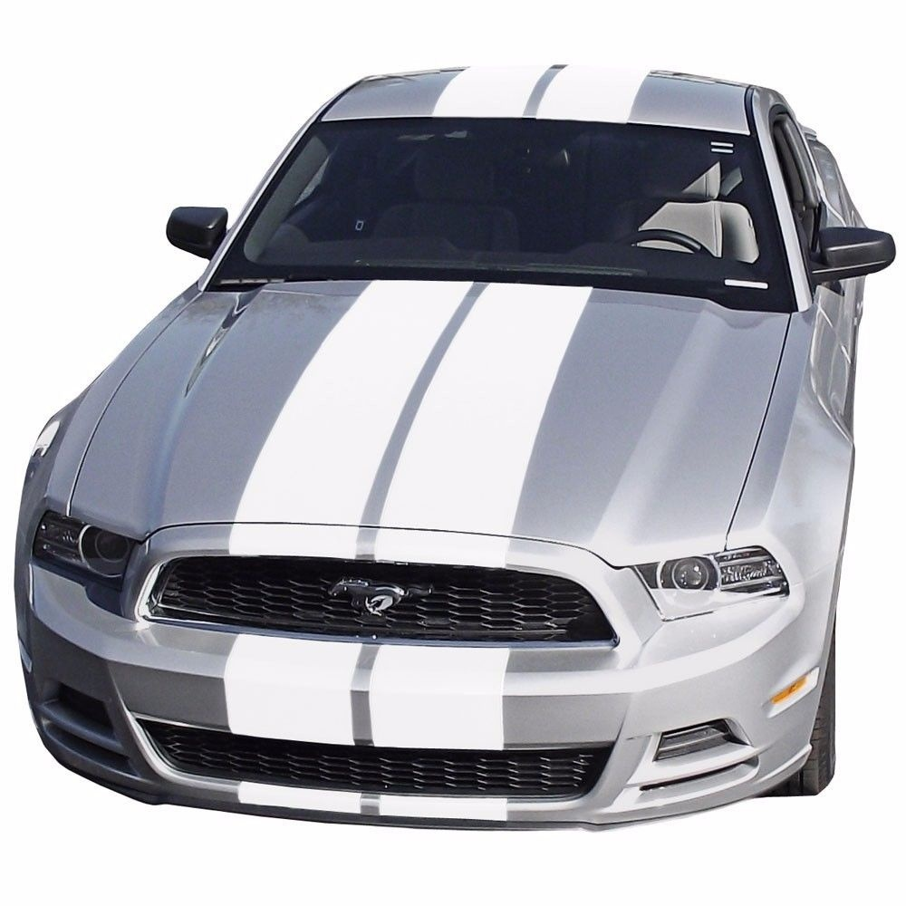For ford mustang vinyl decal graphics stickers vehicle door racing stripe kit car styling for hood roof truck