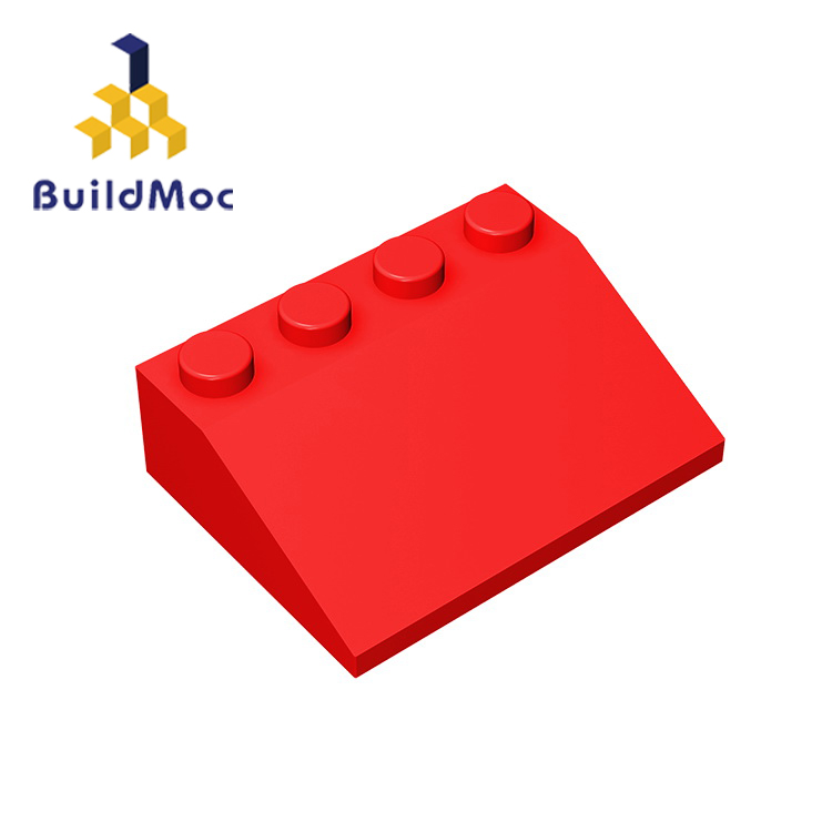 BuildMOC Compatible Assembles Particles 3297 3x4 For Building Blocks Parts DIY Enlighten Bricks Educational Tech Parts Toys