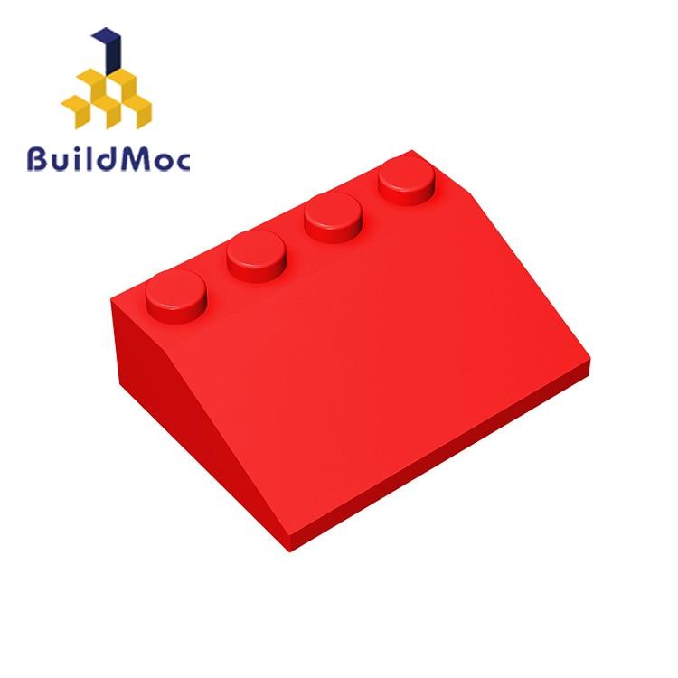 BuildMOC Compatible Assembles Particles 3297 3x4 For Building Blocks Parts DIY Enlighten Bricks Educational Tech Parts Toys