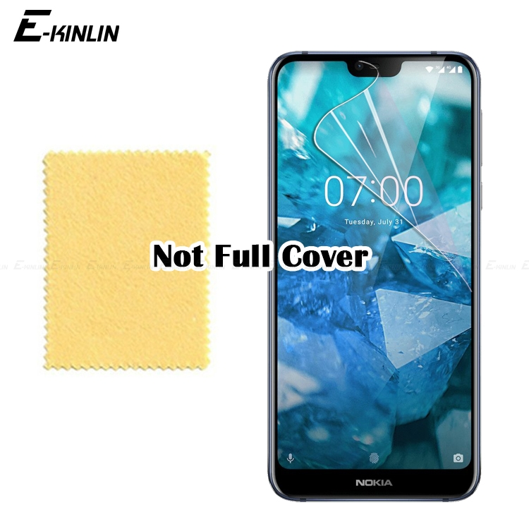 Transparent Soft Guard Protective Film For Nokia 8.1 7.1 6.1 5.1 3.1 2.1 7 Plus 8 5 3 2 Clear Glossy Screen ProtectorTransparent Soft Guard Protective Film For Nokia 8.1 7.1 6.1 5.1 3.1 2.1 7 Plus 8 5 3 2 Clear Glossy Screen Protector