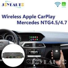 Joyeauto Aftermarket wifi беспроводной OEM Apple Carplay модернизация A B C E G класс GL ml 12-14 NTG4.5 4,7 обновление с обратной камерой