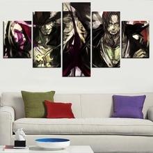 Shanks x Mihawk 5 Piece Canvas Wall Art