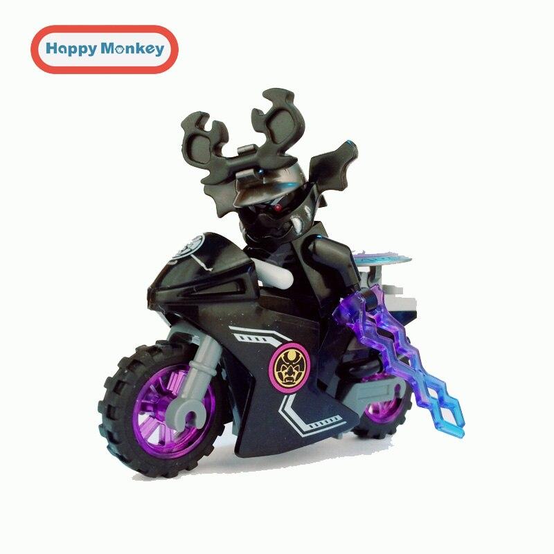 Ninja Motorcycle Building Blocks Bricks Toys legoINGly Ninjagoed Gifts Carmadon