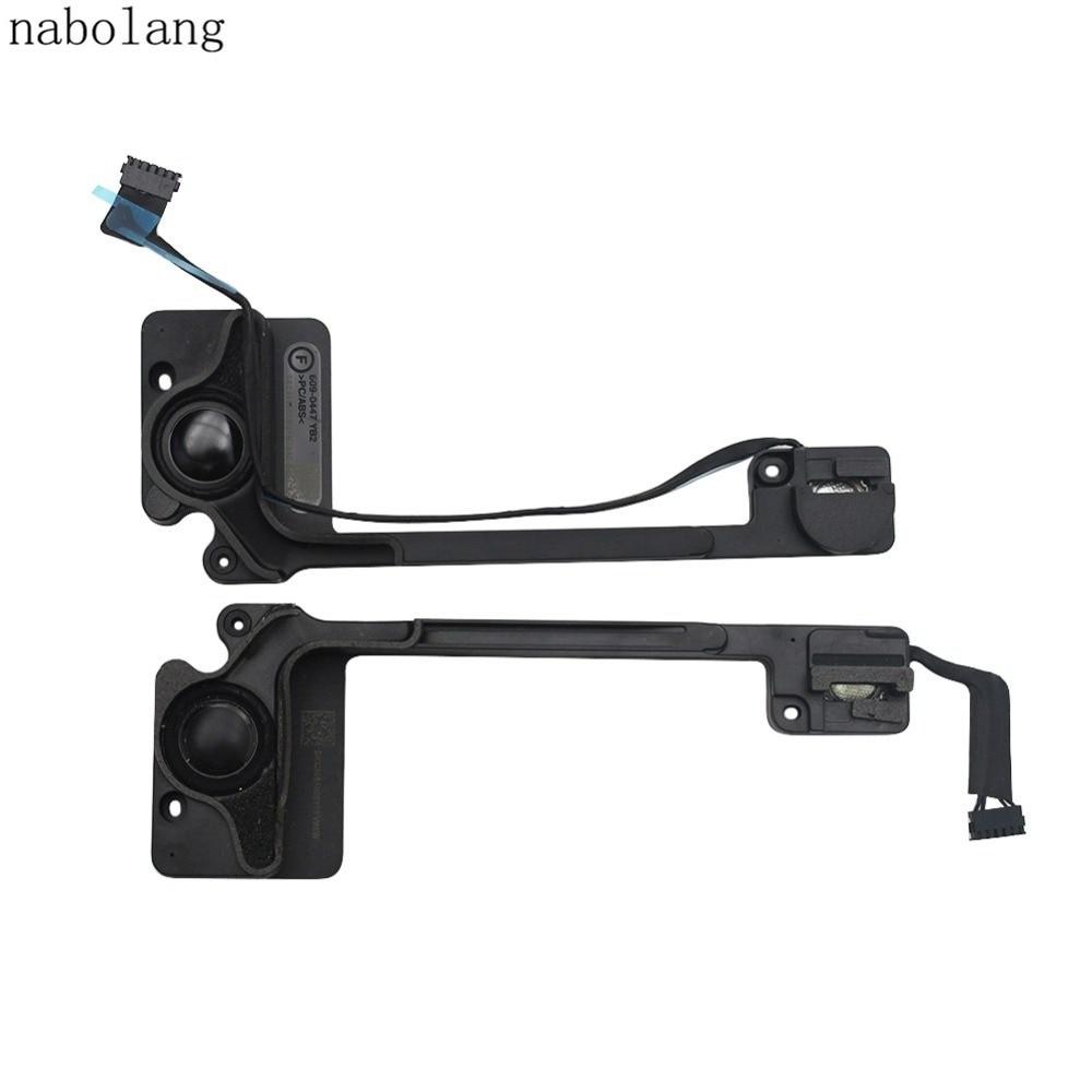 1 pair Left Right Internal Speaker cable rapair parts For Macbook Pro 13 Retina Late 2013 A1502 new laptop speaker for dell for alien 17 r2 m17x speaker pk23000pp00 cn 0c4r39 0c4r39 left