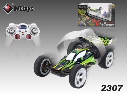 2 шт./лот 30 км / час 5 канальный rc автомобилей мини rc скорость багги гоночный автомобиль трюк автомобиль WL2307 P3