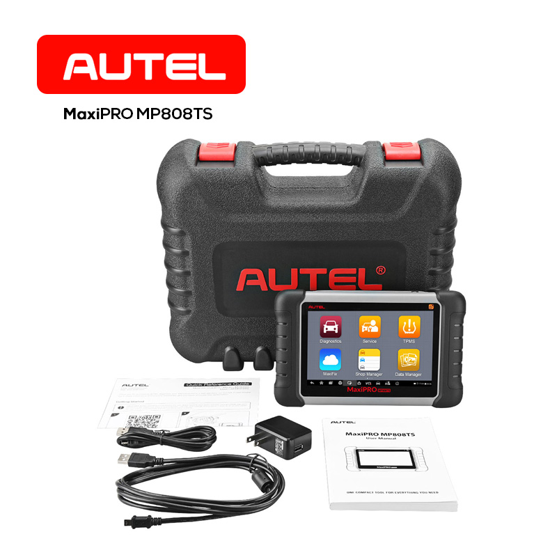 Autel MaxiPRO MP808TS TPMS Diagnostic Tool Complete TPMS Service and Diagnostic Function ...