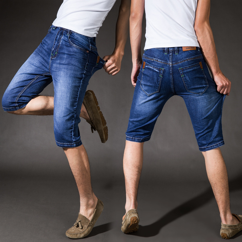 High Quality Men Capris Jeans-Buy Cheap Men Capris Jeans lots from ...